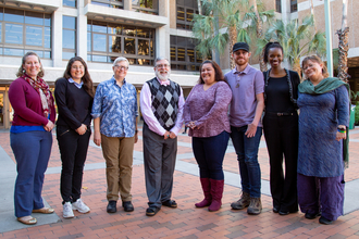 Photo of the library diversity council