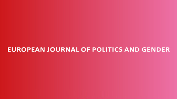 European Journal of Politics and Gender