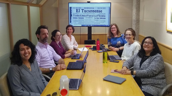 Collections as Data grant team