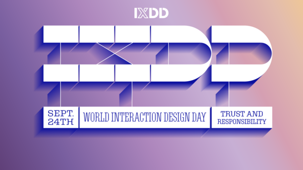 Sept 24 World Interaction Design Day