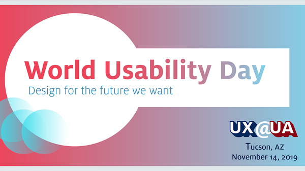 World Usability Day Lunch