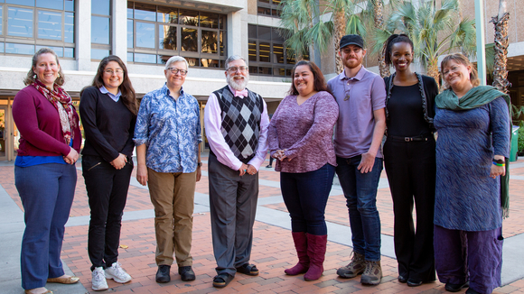 Photos of the library diversity council