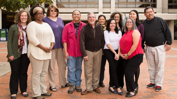 Members of library diversity council