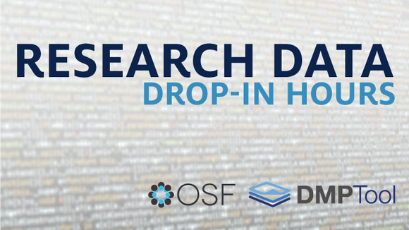 Research Data Drop-In Hours