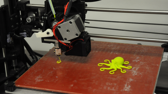 3D printer with octopus