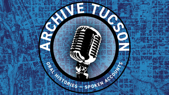 Archive Tucson blue graphic