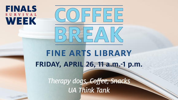 Coffee Break at Fine Arts Library
