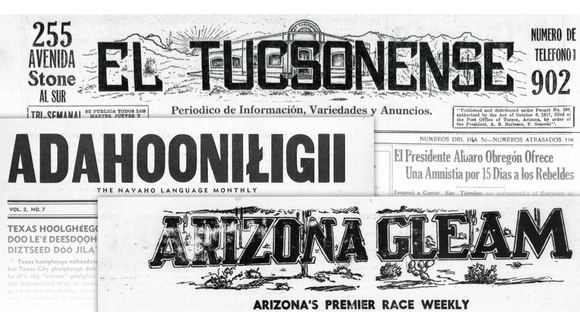 Historical newspapers of Arizona's diverse communities