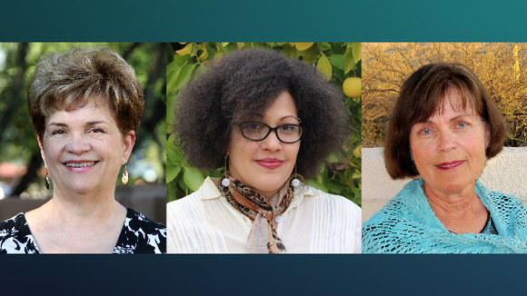 Eliana Rivero, Stephanie Troutman Robbins, and Judith Temple