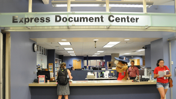 Wilbur at the Express Document Center