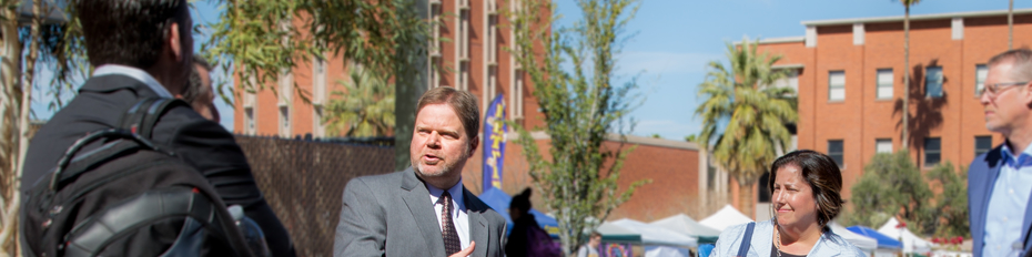 Dean Shan Sutton describes his vision for the student success district.