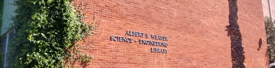 Photo of the Albert B. Weaver Science-Engineering Library