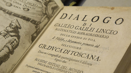 image of Galileo text