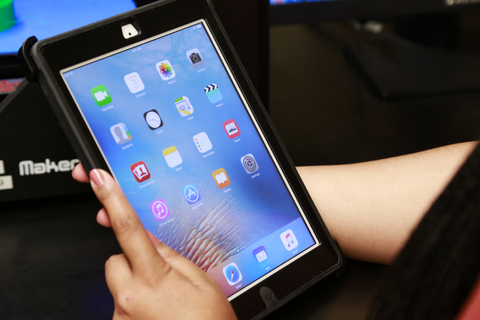 Photo of the Apple iPad