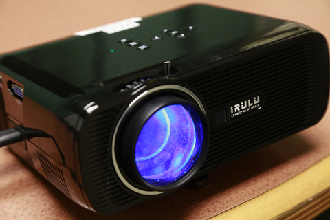Photo of LCD projector