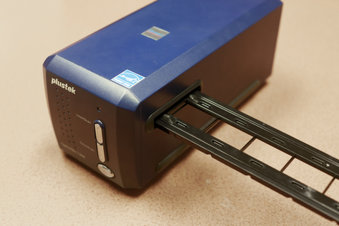 Photo of slide scanner