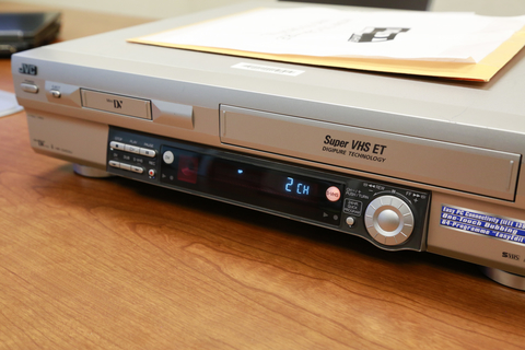 Photo of DV/VHS player