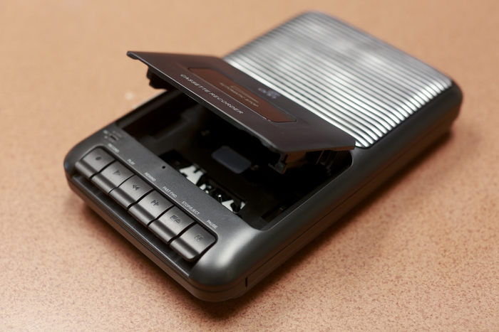 Photo of a cassette player/recorder